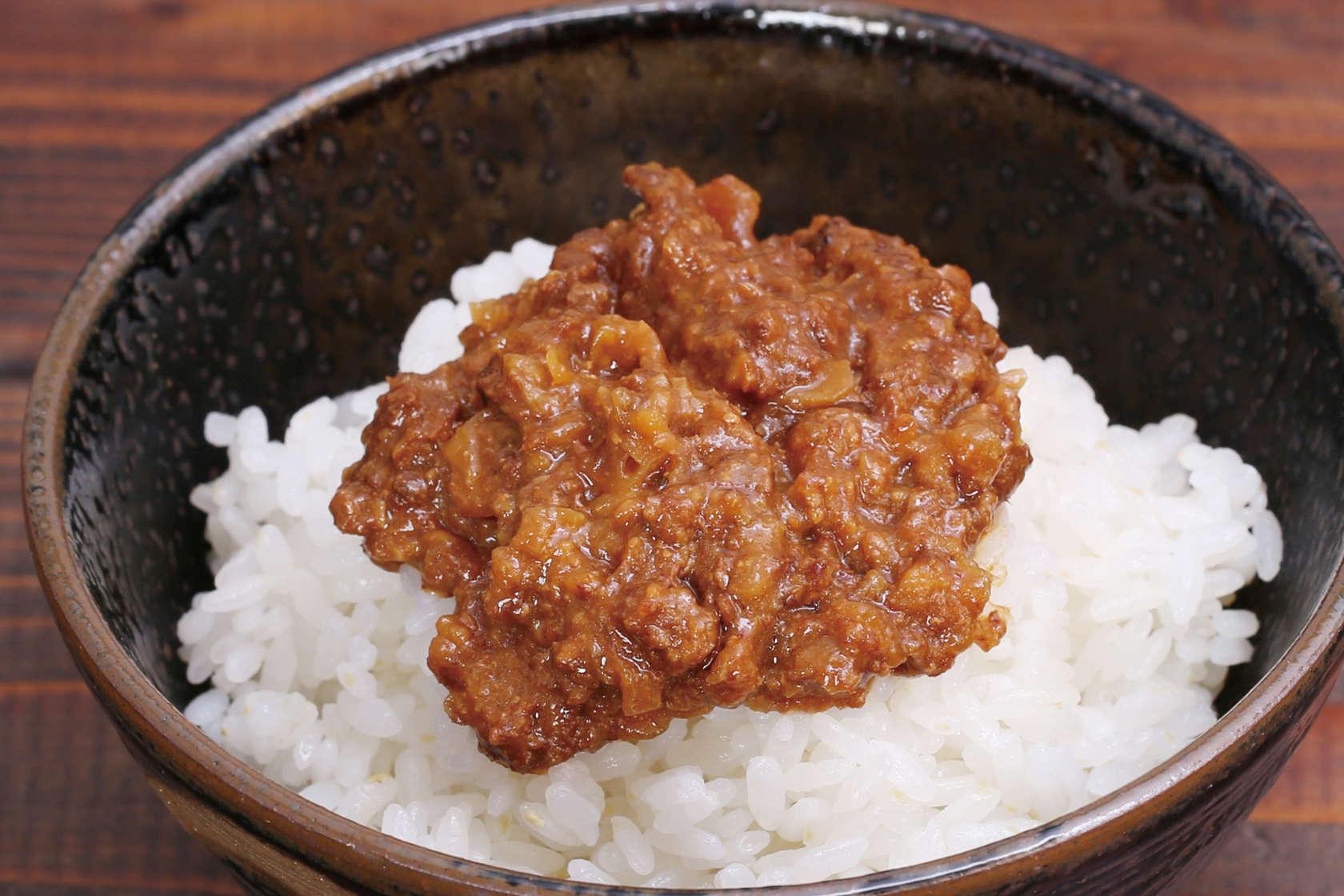 米ヶ岡鶏でつくった鶏味噌